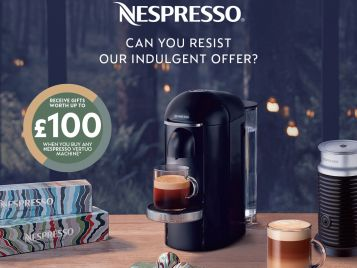 Nespresso can you resist...