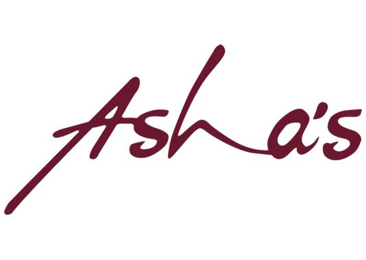 Asha's - Now taking bookings logo